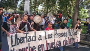 Presos políticos mapuche de cárcel de Lebu inician huelga de hambre líquida (Esp/Ing)