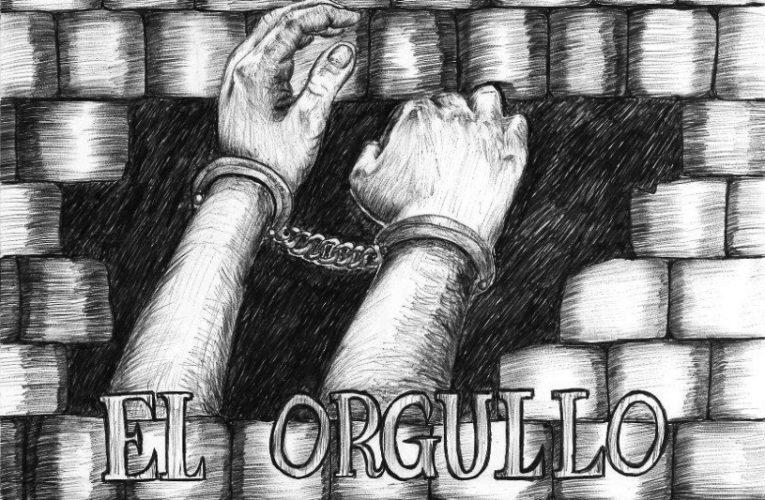 Dibujo de la compañera Mónica Caballero para la semana internacional de solidaridad con lxs anarquistas encarceladxs (23-30 agosto 2020)