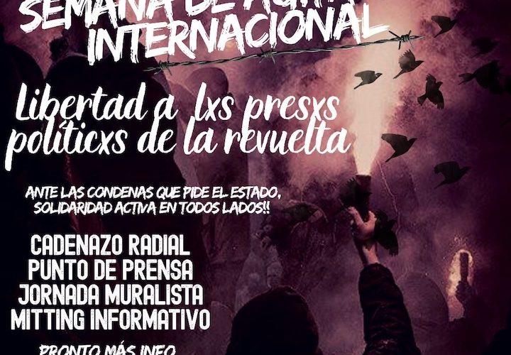 Semana de agitación por lxs presxs de la revuelta (30 agosto al 6 septiembre)