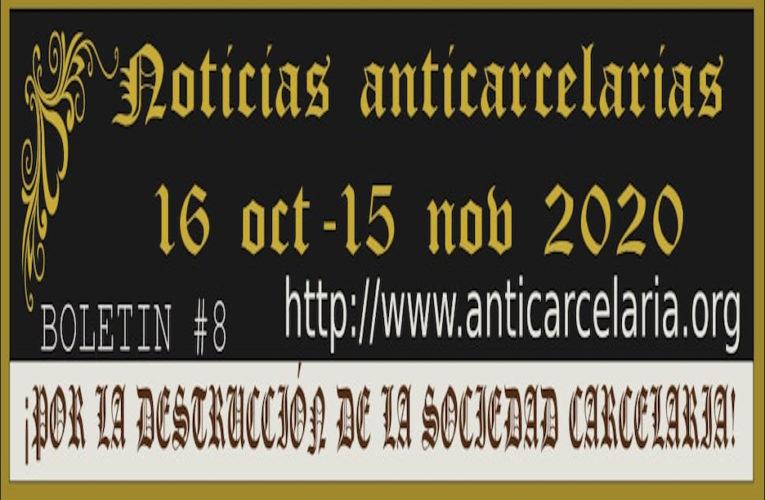 Boletín #8 Noticias Anticarcelarias