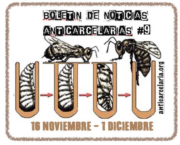 Boletín #9 Noticias Anticarcelarias