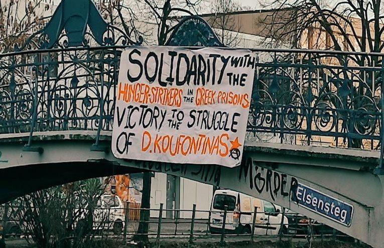Viernes 12 de febrero. Día internacional de solidaridad con la huelga de hambre de Dimitri Koufontinas