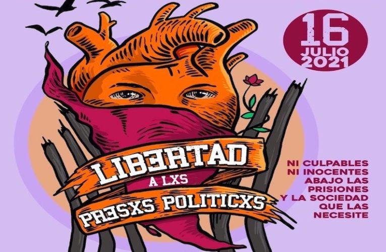 Declaración conjuntan rumbo a la Jornada de Agitación por la Libertad de lxs Presxs Políticxs del Abya Yala (Esp/Ing)
