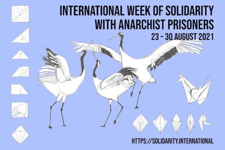 Convocatoria a la Semana Internacional de Solidaridad con lxs Presxs Anarquistas // 23 – 30 de agosto de 2021